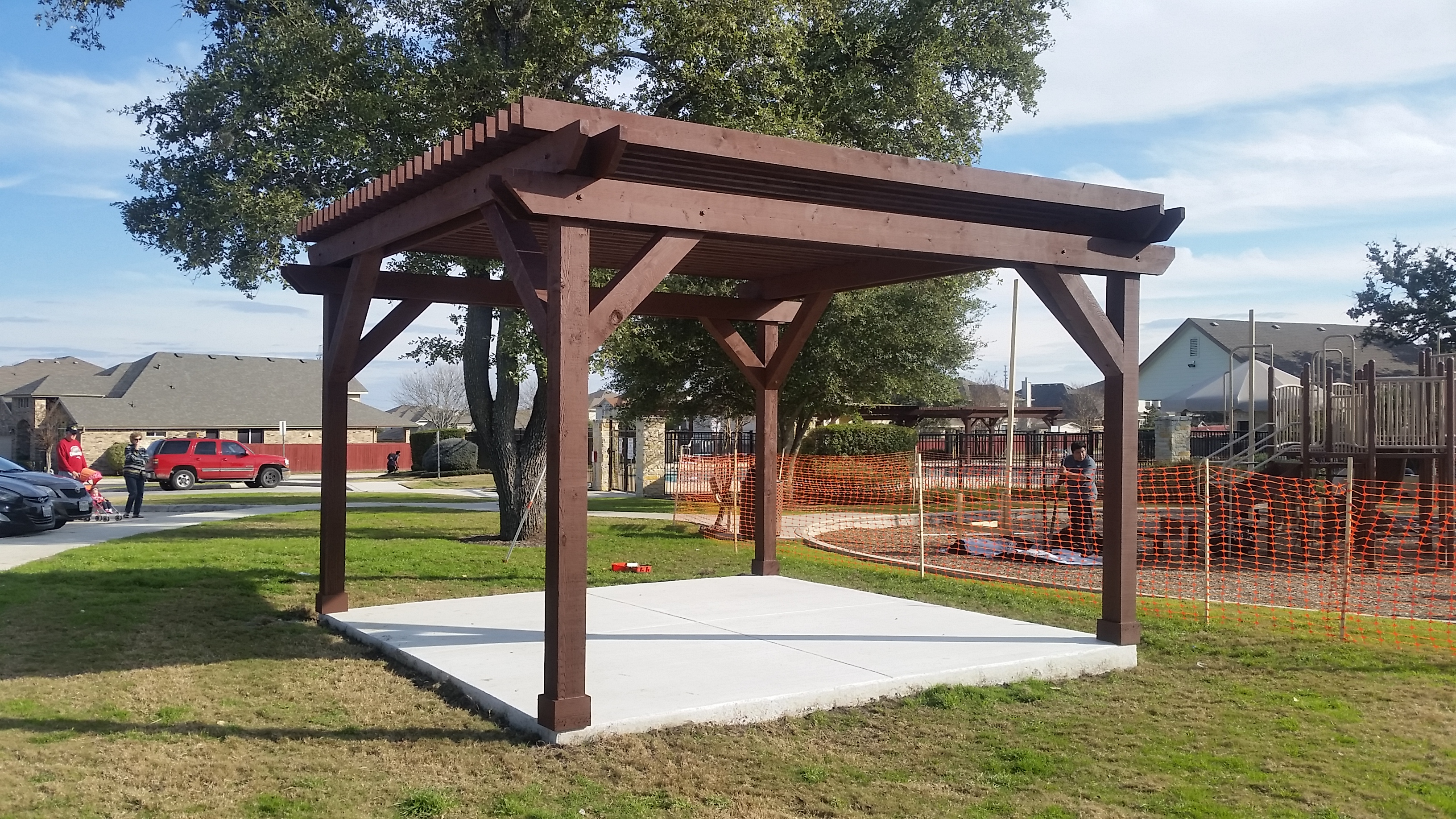 Pavilions Pergolas Amp Patio Covers Right Source Roofing