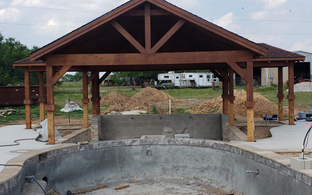 Completed – Diary of a Pool Pavillion