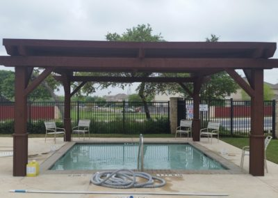 Pergola Subdivision Community Pool Contractor