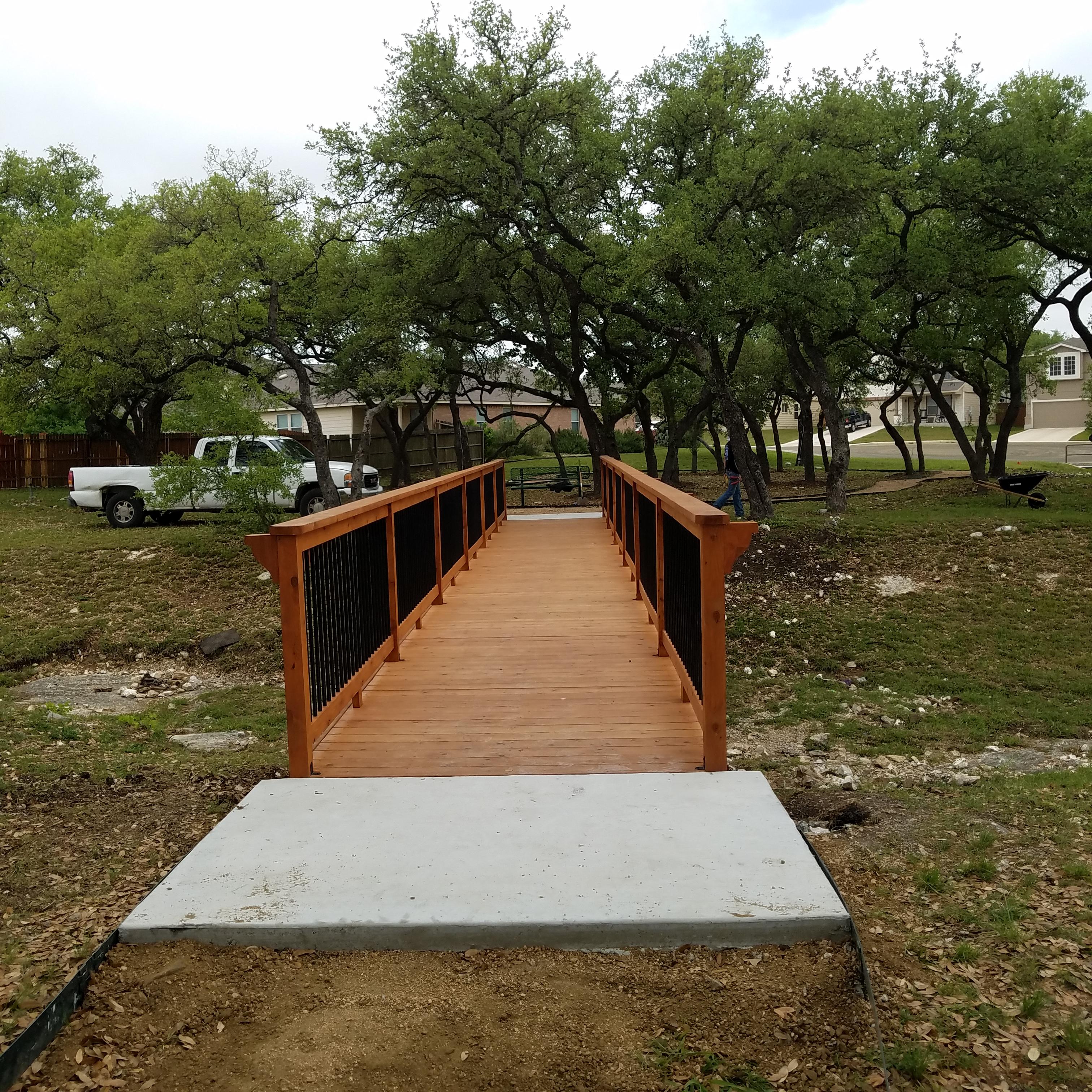 Pedestrian Walk Bridge - Right Source Roofing & Construction
