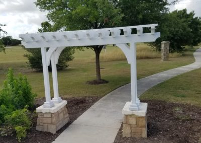 Rebuild Custom Pergola for Charleston Park HOA