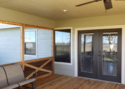 Home Renovation Screened Patio Deck Addition