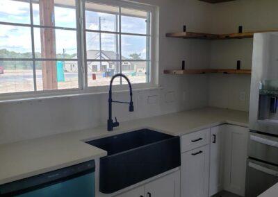 Modern Shaker Style Kitchen Design / Build San Antonio