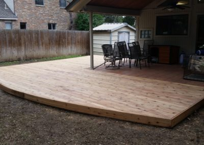 Cedar Deck Patio