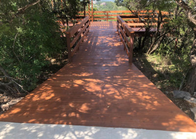 Custom Deck Rebuild Shadow Canyon HOA