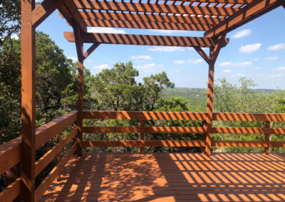 Custom Deck Rebuild Shadow Canyon HOA