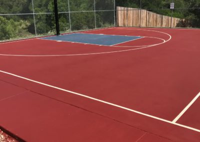 Basketball Court Resurfacing