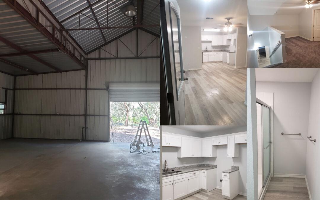 Transformation – Metal Building into Home