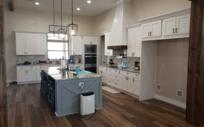 Custom Home Kitchen (Shaker-Style Modern)