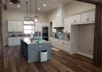 Modern Shaker Style Kitchen Design / Build San Antonio