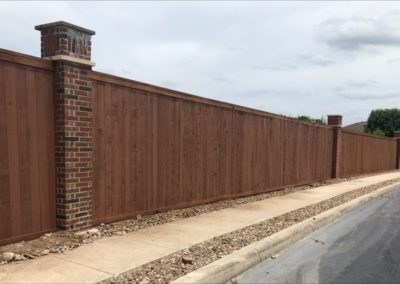 Fence Repair After Vehicle Damage